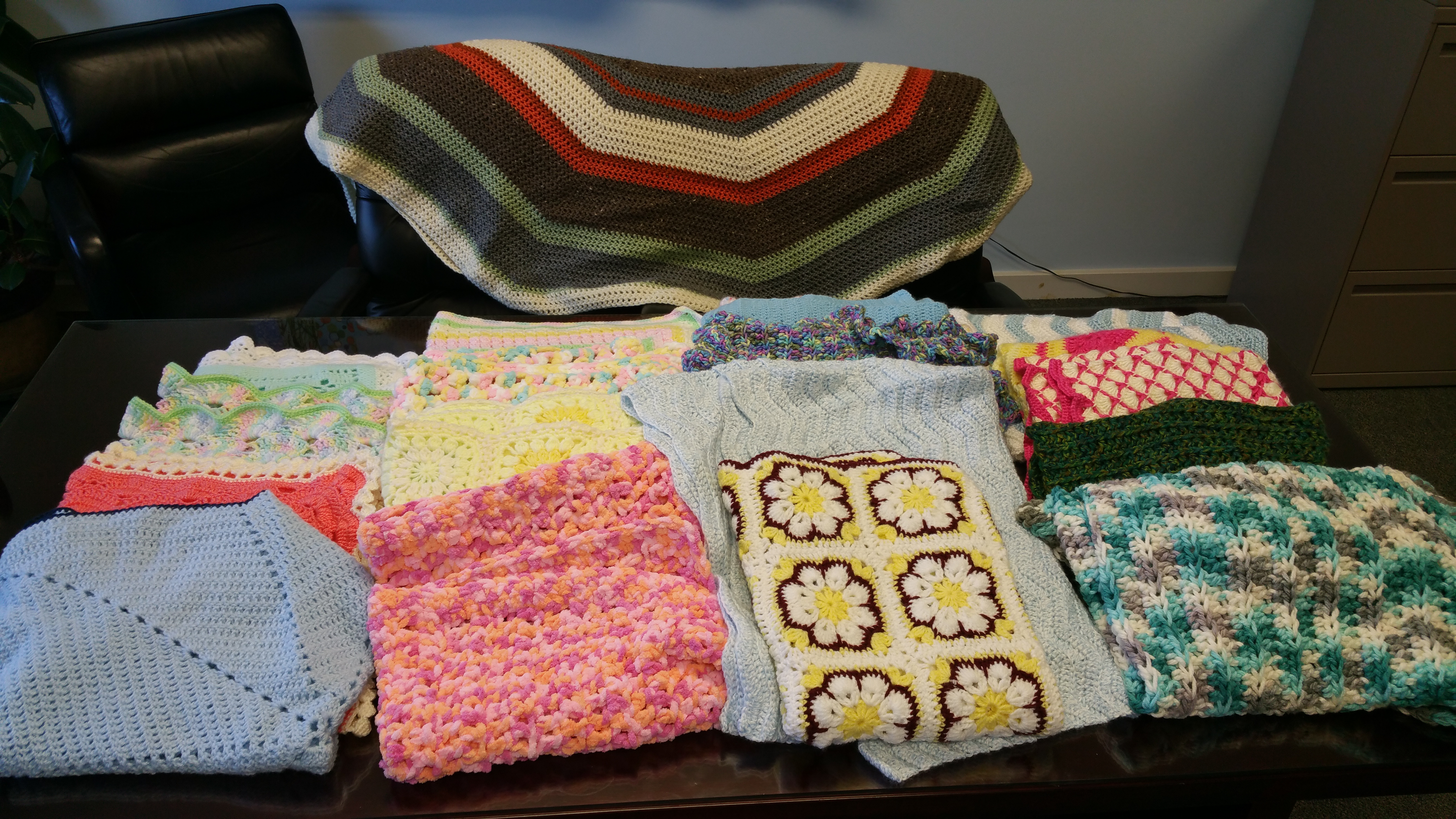 Baby blankets for St Judes project 2 17 2
